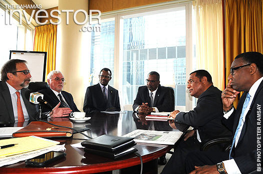 PM meets investors in NYC