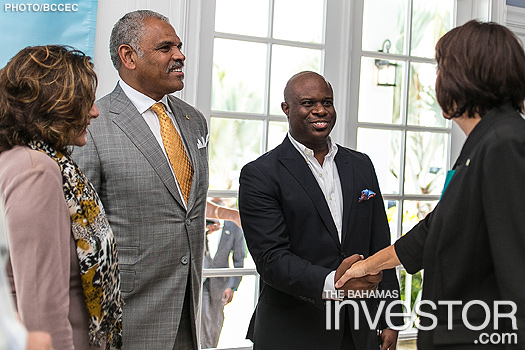 Carnival CEO visits Nassau