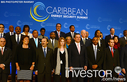 Delegates at the Caribbean Energy Security Summit