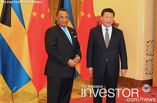 Prime Minister Christie and President of China
