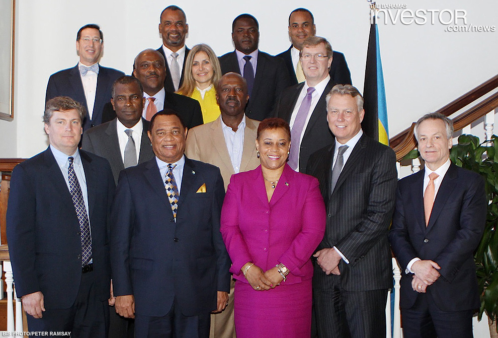 RBC Capital Markets execs visit PM - photo | The Bahamas ...