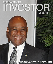 Minister of Tourism Obie Wilchcombe