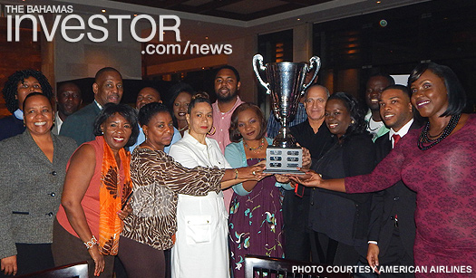 LPIA staff bag American Airlines award