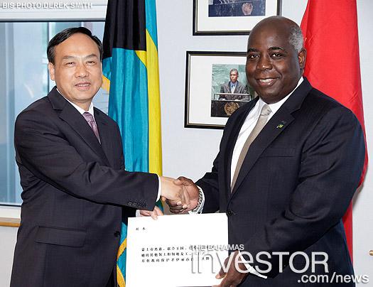 Resident Ambassador Designate of the People's Republic of China