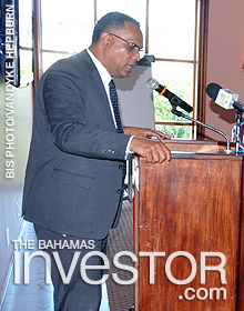 Minister for Grand Bahama Dr. Michael Darville