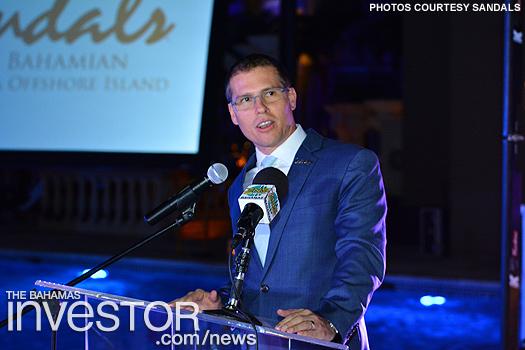Sandals Resorts CEO Adam Stewart