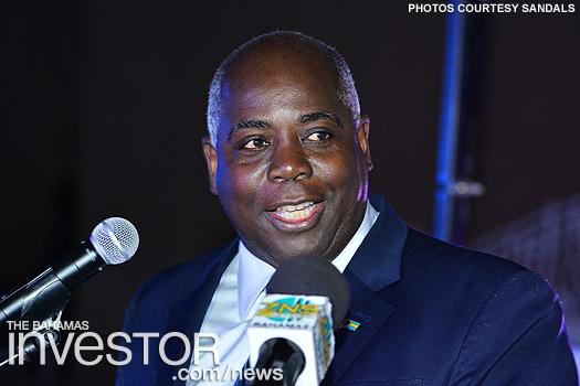 Deputy Prime Minister Philip 'Brave' Davis