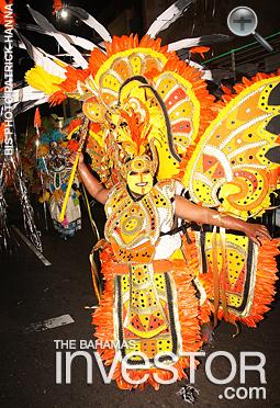 2017 New Year's Day Junkanoo parade