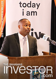 Grand Bahama in the Office of the Prime Minister Kwasi Thompson
