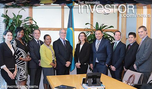 IDB visit FS Minister