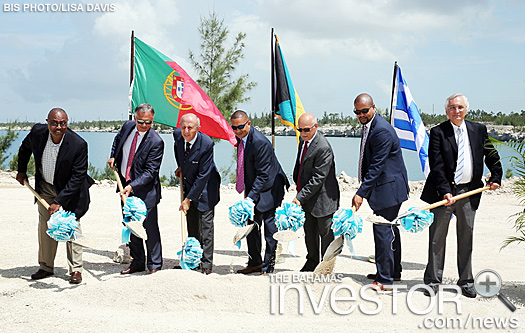 Ground broken on $10m Eco-Oil project in GB - photos