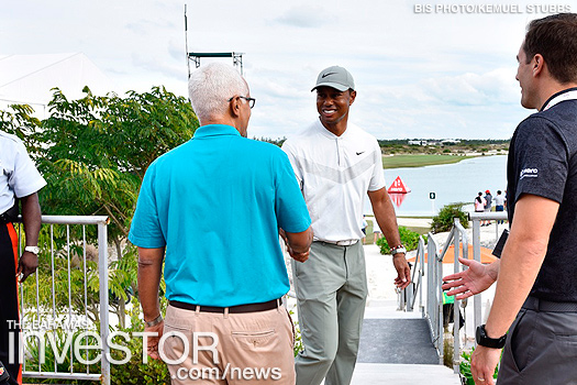 Golfing in The Bahamas